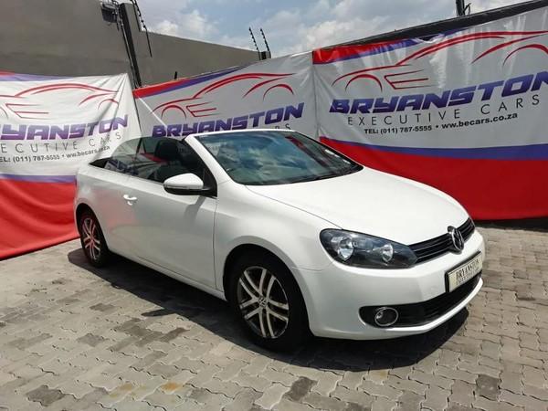 2012 Volkswagen Golf Vi 1.4 Tsi Cabrio Cline  Gauteng Randburg_0