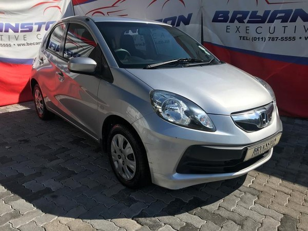 2014 Honda Brio 1.2 Comfort  Gauteng Randburg_0