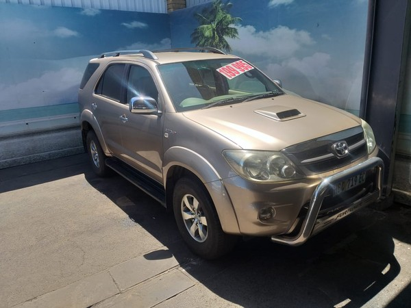 2007 Toyota Fortuner 3.0d-4d Raised Body  Western Cape Goodwood_0