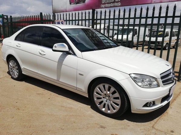 2009 Mercedes-Benz C-Class C220 Cdi Elegance At  Gauteng Germiston_0