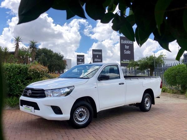 2017 Toyota Hilux 2.4 GD AC Single Cab Bakkie Gauteng Centurion_0