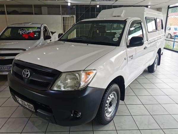 2007 Toyota Hilux 2.0 VVT-i Pu Sc Gauteng Edenvale_0
