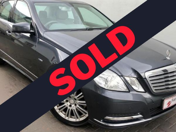 2012 Mercedes-Benz E-Class E 350 Be  Gauteng Pretoria_0