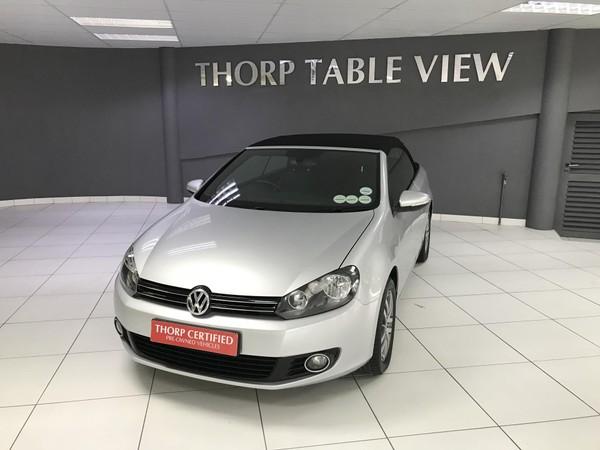 2012 Volkswagen Golf Vi 1.4 Tsi Cabrio Cline  Western Cape Table View_0