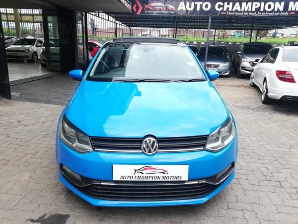 2016 Volkswagen Polo 1.0 TSI Comfortline Gauteng Johannesburg_0