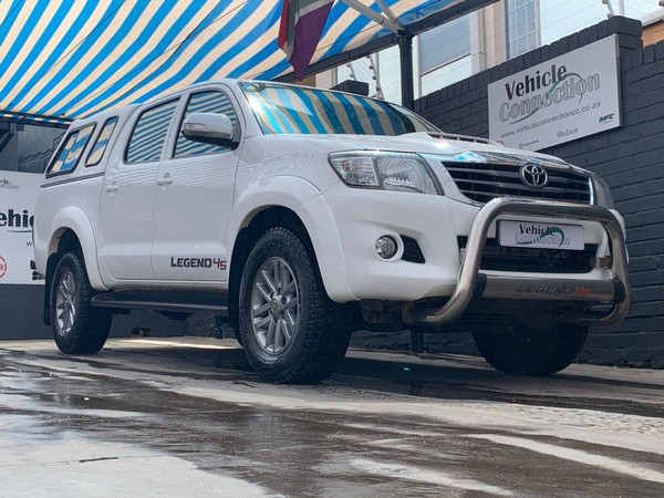 2015 Toyota Hilux 2.5 D-4D SRX RB LEGEND 45 Double Cab Bakkie Gauteng Johannesburg_0