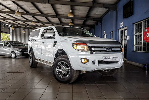 2013 Ford Ranger 3.2tdci Xls 4x4 At Pu Supcab  Mpumalanga Middelburg_0