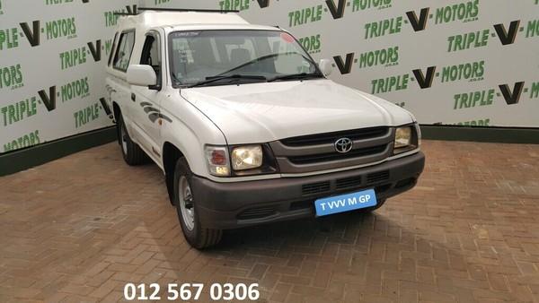 2004 Toyota Hilux 2000 Swb Pu Sc  Gauteng Pretoria_0