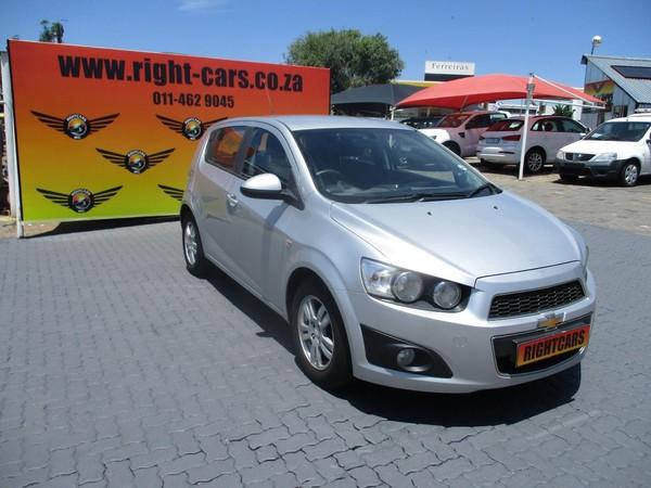 2012 Chevrolet Sonic 1.4 Ls 5dr  Gauteng North Riding_0