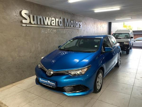 2016 Toyota Auris 1.3 X Gauteng Silverton_0