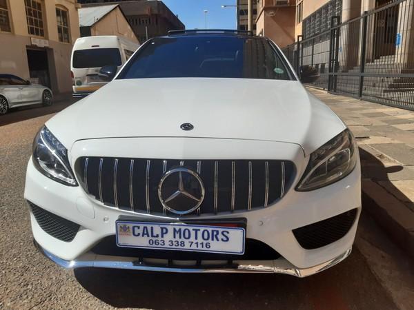 2017 Mercedes-Benz C-Class C180 AMG Line Auto Gauteng Marshalltown_0
