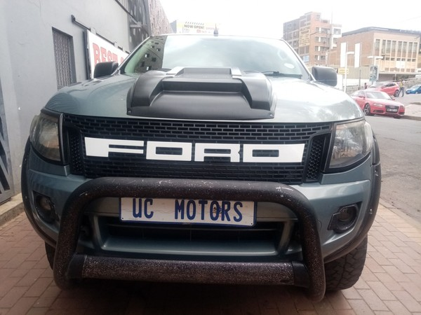 2014 Ford Ranger 2.2TDCi XL PLUS 4X4 Double cab Bakkie CC Gauteng Johannesburg_0