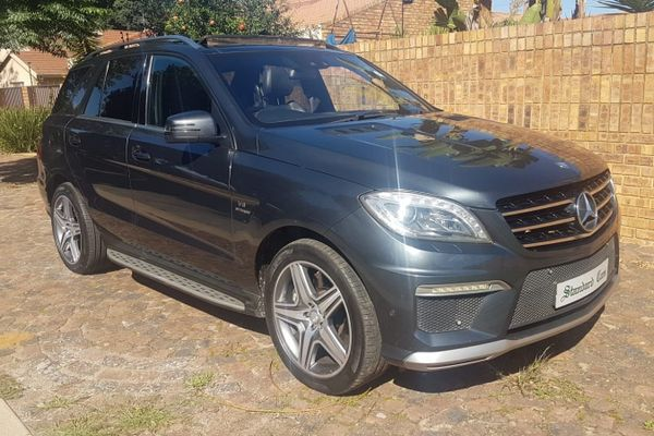 2012 Mercedes-Benz ML Ml 63 Amg  Kwazulu Natal Durban_0