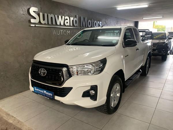 2019 Toyota Hilux 2.4 GD-6 RB SRX PU ECAB Gauteng Silverton_0