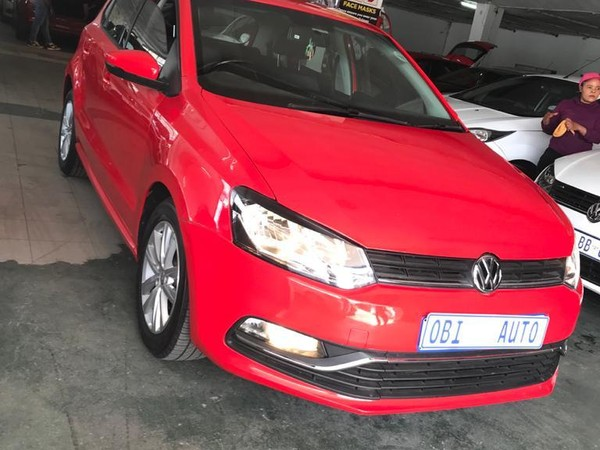 2017 Volkswagen Polo 1.2 TSI Highline 81KW Gauteng Johannesburg_0