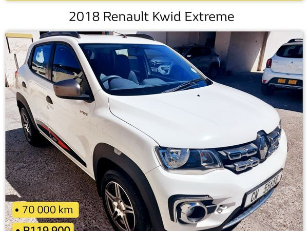2018 Renault Kwid 1.0 Xtreme Limited Edition 5-Door Western Cape Worcester_0