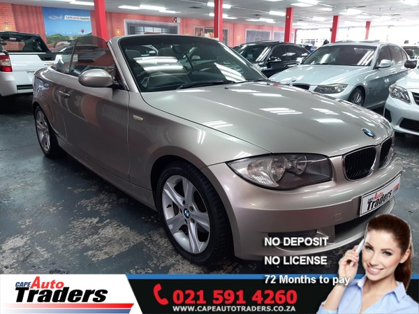2008 BMW 1 Series 125i Convertible At  Western Cape Goodwood_0