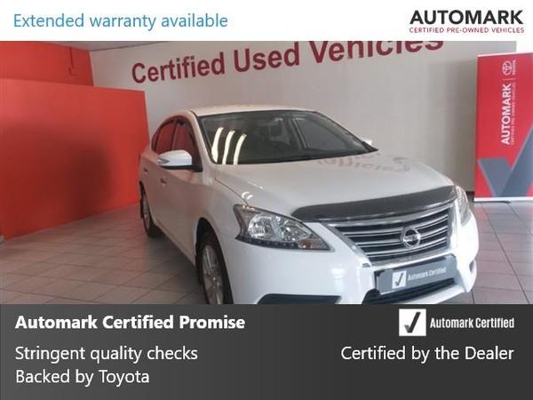 2014 Nissan Sentra 1.6 Acenta Gauteng Springs_0