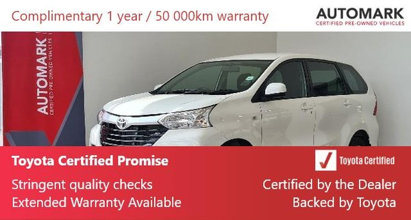 2020 Toyota Avanza 1.5 SX North West Province Vryburg_0