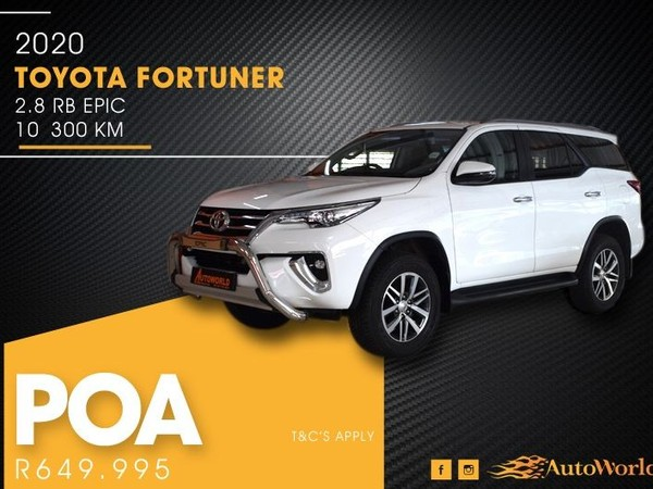 2020 Toyota Fortuner 2.8GD-6 Epic Auto Western Cape Goodwood_0