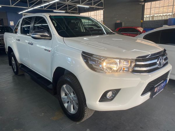 2017 Toyota Hilux 2.8 GD-6 Raider 4X4 Double Cab Bakkie Auto Free State Bloemfontein_0