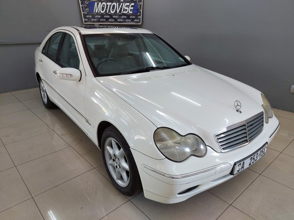 2002 Mercedes-Benz C-Class C 240 Elegance At  Gauteng Vereeniging_0