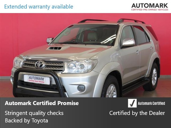 2011 Toyota Fortuner 3.0d-4d Rb  Limpopo Polokwane_0