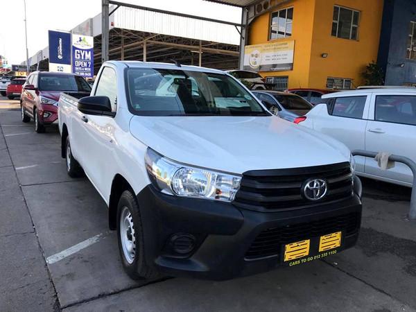 2020 Toyota Hilux 2.0 VVT Single Cab Bakkie Gauteng Pretoria_0