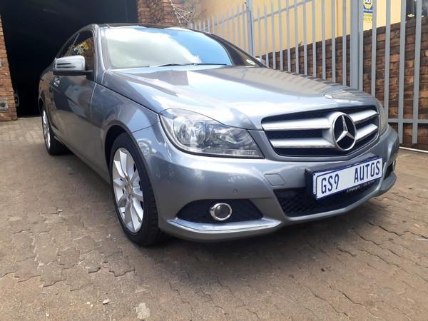 2013 Mercedes-Benz C-Class C180 Be Coupe At  Gauteng Johannesburg_0