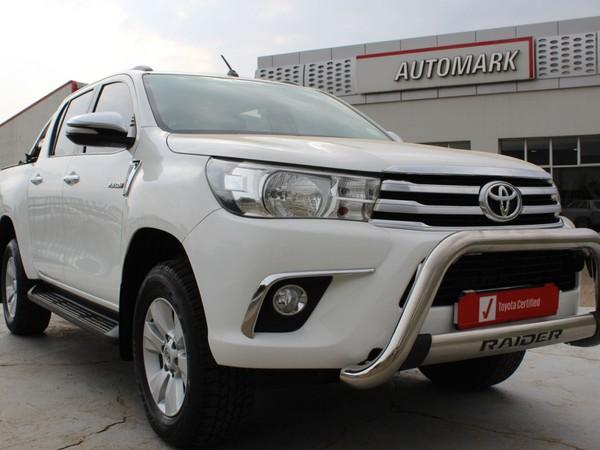 2016 Toyota Hilux 2.8 GD-6 Raider 4X4 Double Cab Bakkie Auto Gauteng Roodepoort_0