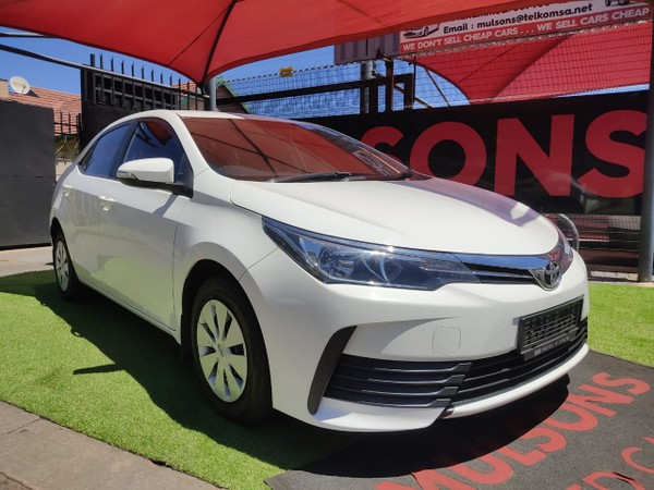 2019 Toyota Corolla 1.4D Esteem Gauteng Boksburg_0
