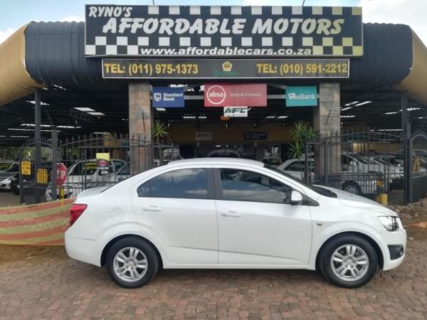2014 Chevrolet Sonic 1.6 Ls  Gauteng Kempton Park_0