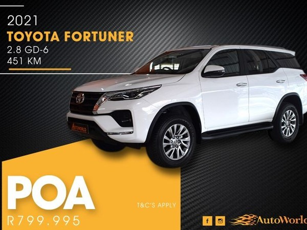 2021 Toyota Fortuner 2.8GD-6 4x4 Auto Western Cape Goodwood_0