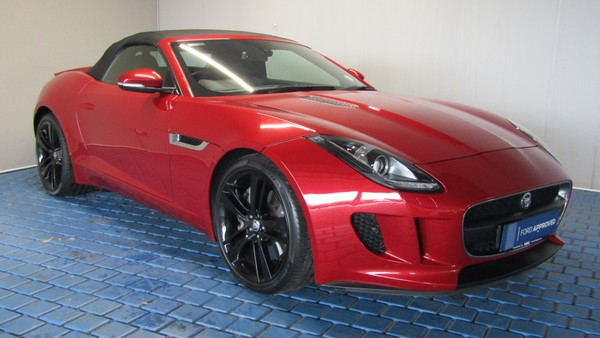 2013 Jaguar F-TYPE S 3.0 V6 Gauteng Kempton Park_0