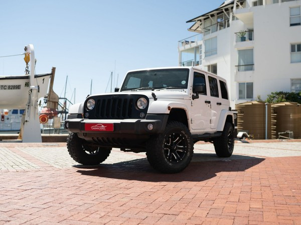 2014 Jeep Wrangler Unlimited 3.6l V6 At  Western Cape Western Cape_0