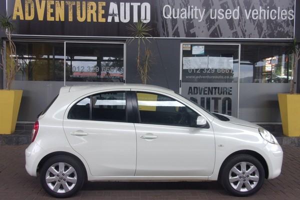 2013 Nissan Micra 1.5 Tekna 5dr d85  Gauteng Pretoria_0