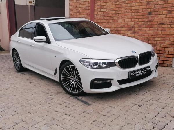 2017 BMW 5 Series 520d M Sport Gauteng Boksburg_0