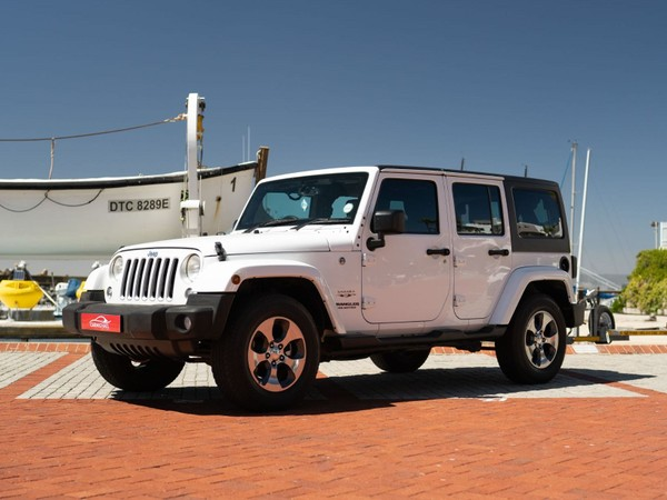 2018 Jeep Wrangler Unlimited 3.6l V6 At  Western Cape Western Cape_0