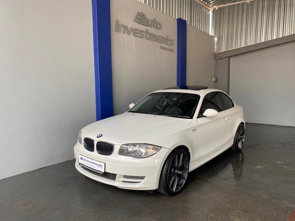 2009 BMW 1 Series 120d Coupe Exclusive At  North West Province Rustenburg_0