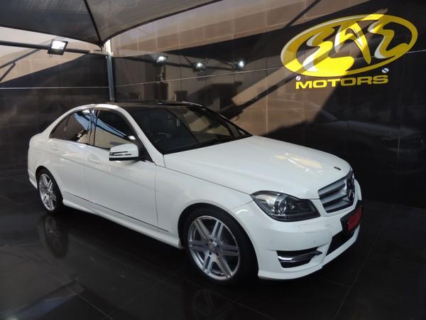 2013 Mercedes-Benz C-Class C200 Be Avantgarde At  Gauteng Vereeniging_0