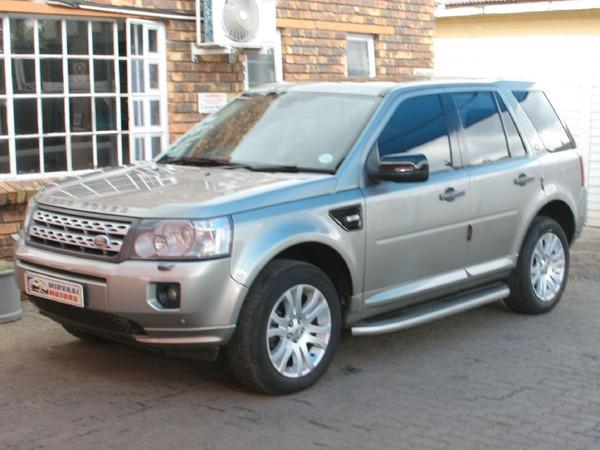 2012 Land Rover Freelander FREELANDER II SD4 SE AUTOMATIC  Gauteng Vereeniging_0
