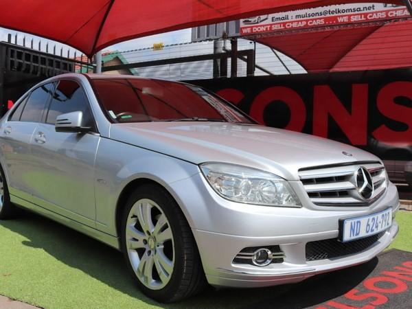 2011 Mercedes-Benz C-Class C200 Cgi Be Avantgarde At  Gauteng Boksburg_0