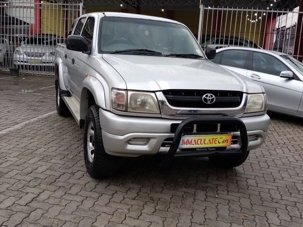 2004 Toyota Hilux 2700i Raider Rb Pu Dc  Gauteng Benoni_0