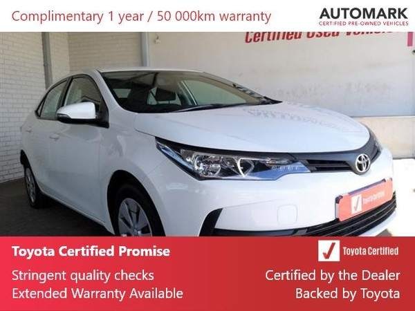 2020 Toyota Corolla Quest 1.8 CVT Eastern Cape King Williams Town_0