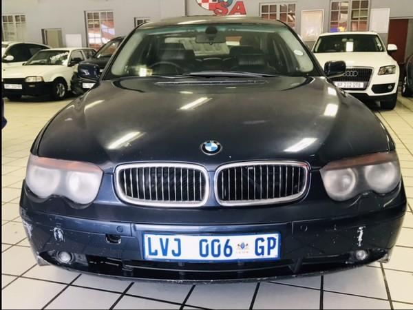 2005 BMW 7 Series 745i e65  Gauteng Springs_0