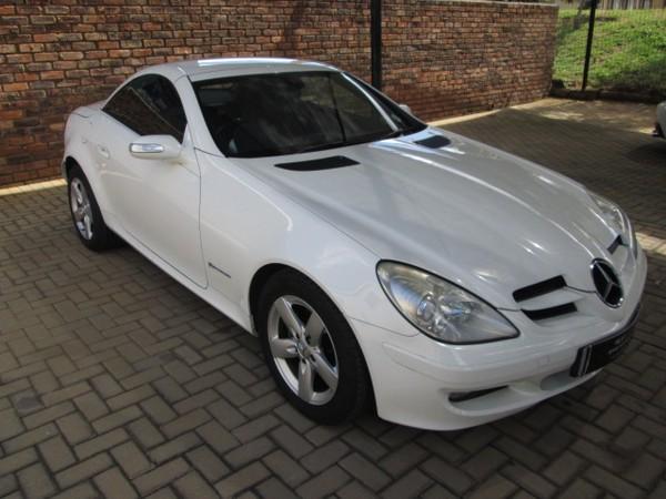 2005 Mercedes-Benz SLK-Class Slk 200 Kompressor  Gauteng Pretoria_0