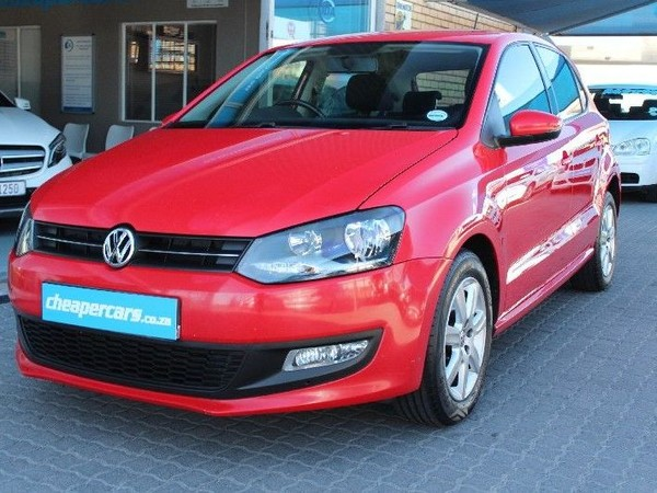 2010 Volkswagen Polo Volkswagen Polo 1.6 Comfortline  Western Cape Bellville_0