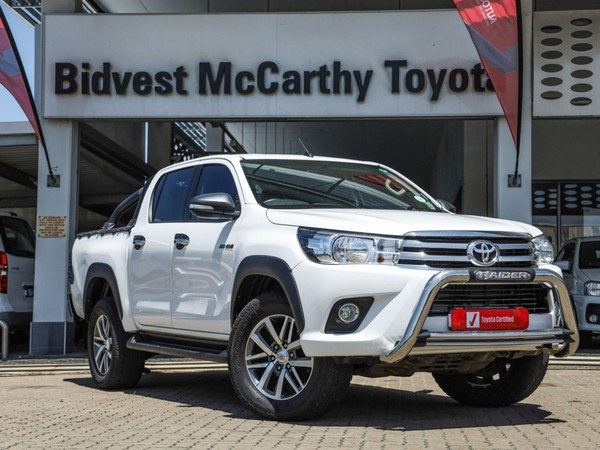 2017 Toyota Hilux 2.8 GD-6 RB Raider Double Cab Bakkie Auto Kwazulu Natal Richards Bay_0