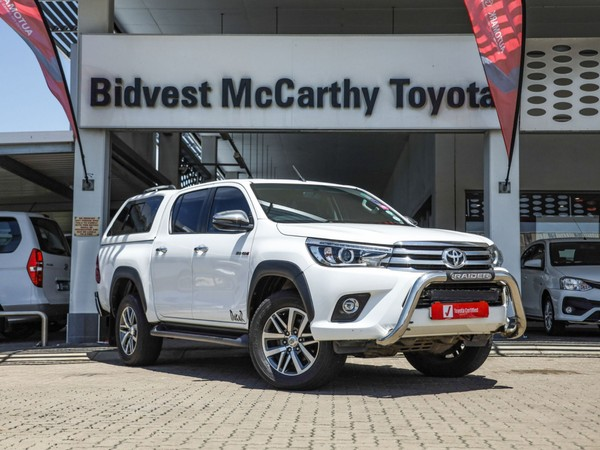 2018 Toyota Hilux 2.8 GD-6 Raider 4X4 Double Cab Bakkie Auto Kwazulu Natal Richards Bay_0