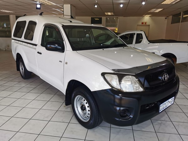 2010 Toyota Hilux 2.0 Vvti Pu Sc  Gauteng Edenvale_0